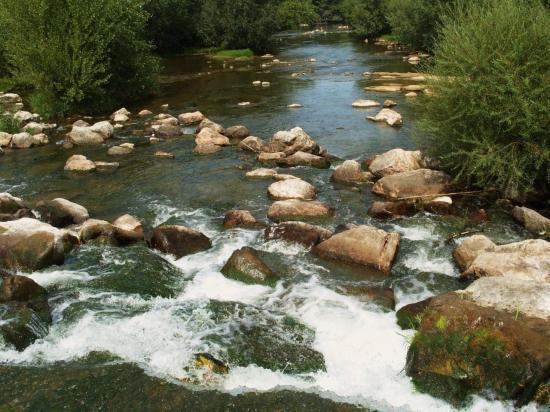 Rivière à 500 m du Mas du Tech