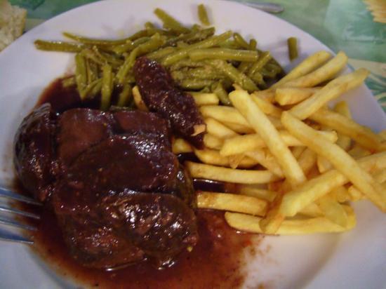 Magret de canard sauce figues et banyuls